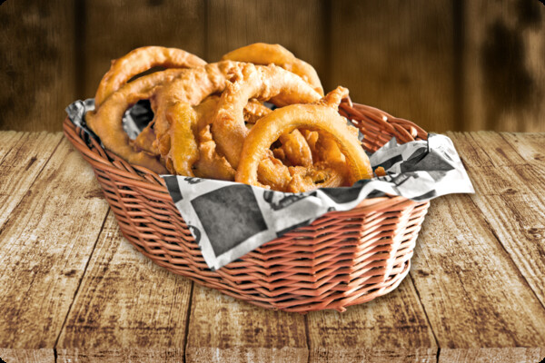 Texas onion rings