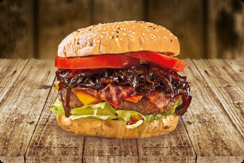 Jack Daniel's Barbecue Burger
