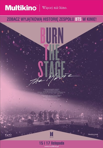 Elbl±g, Burn the stage: The movie 15 i 17 listopada tylko w Multikinie