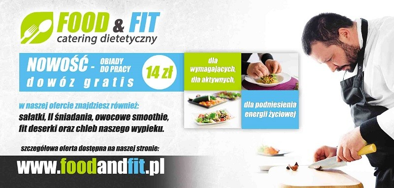 Elbl±g, Firma Agaty zamawia obiady w Food and Fit, zamów i Ty!