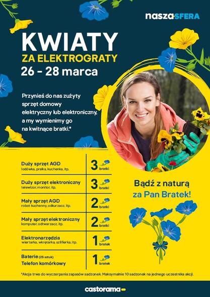 W Castoramie Za Elektrograty Dostaniesz Kwiaty Czekamy 26 28