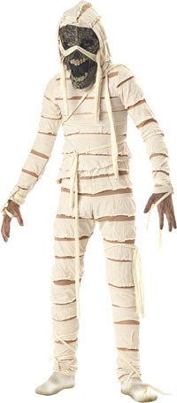 Как сделать костюм мумии сам